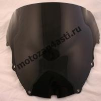 Ветровое стекло CBR600 F4 Дабл-Бабл 99-00 Черное