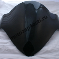 Ветровое стекло GSXR1300 Hayabusa 08-13 Дабл Бабл Черное