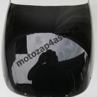 Ветровое стекло VFR400 NC24 87-88 Дабл-Бабл Черный