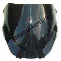 Ветровое стекло CBR600 F3 Дабл-Бабл 95-98 Черное