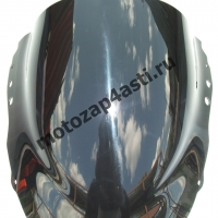Ветровое стекло CBR919rr 98-99 Дабл-Бабл Черное