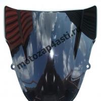 Ветровое стекло GSXR600/750 2001-2003/GSXR1000 2000-2002 Дабл Бабл Черное