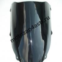Ветровое стекло ZX-10R 2004-2005 Дабл Бабл Черное
