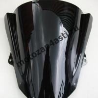 Ветровое стекло ZX-10R 2008-2010 Дабл Бабл Черное