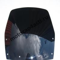 Ветровое стекло Ninja 250 08-09 Черное