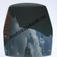 Ветровое стекло Ninja 250 08-09 Дымчатое