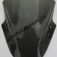 Ветровое стекло Ninja 300 13-14 Дымчатое