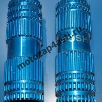 Подножки Передние универсальные POSH Тип-4 Синий.