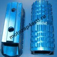 Подножки Передние универсальные POSH Тип-5 Синий.