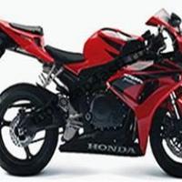 Комплект пластика Honda CBR1000RR 2006-2007  Красно-черный штатный