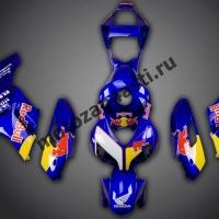 Комплект пластика Honda CBR1000RR 2004-2005 Red-Bull Синий 2.
