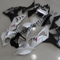 Комплект Мотопластика BMW S1000-1000RR 09-12 Бело-Черный.