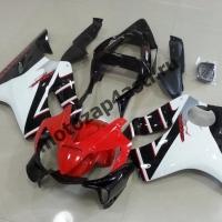 Комплект мотопластика Honda CBR600 F4i 01-07 Бело-красно-Черный-1.