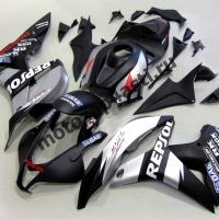 Комплект Мотопластика Honda CBR600rr 09-12 Repsol серебристо-черный.