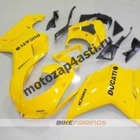Комплект пластика DUCATI 848 1098 1198 Желтый.
