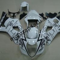 Комплекты пластика Suzuki GSXR1000 03-04 Corona Extra Бело-Черная