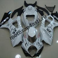 Комплекты пластика Suzuki GSXR1000 07-08 Corona Extra Черно-Белый.