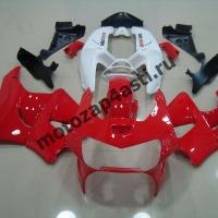 Комплект пластика Honda CBR900rr 98-99 Красно-Белый
