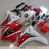 Комплект мотопластика Honda CBR1000RR 2008-2011 Красно-бело-черный.