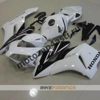 Комплекты пластика Honda CBR1100XX Сток Бело-черный.