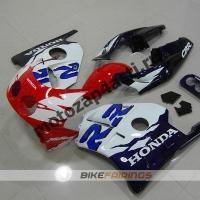 Комплект Мотопластика Honda CBR250 MC22 Бело-Красно-Синий-2.
