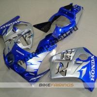 Комплект Мотопластика Honda CBR250 MC19 Сине-Серебристый.