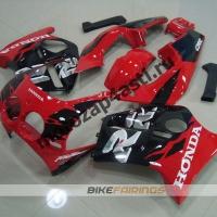 Комплект Мотопластика Honda CBR250 MC19 Красно-Черный-2.