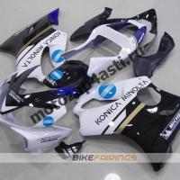 Комплект пластика для мотоцикла Honda CBR600 F4i 01-07 Konika Minolta.