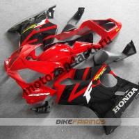 Комплект мотопластика Honda CBR600 F4i 01-07 Сток Красно-Черный.