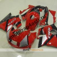 Комплект пластика Honda CBR600FS 91-94 Красно-Черный.