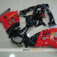 Комплект мотопластика Honda CBR600F3 95-98 Черно-Красный.