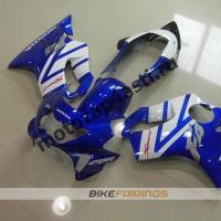 Комплект пластика Honda CBR600F4 98-00 Сине-Белый.
