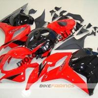 Комплект Мотопластика Honda CBR600rr 09-10 Красно-Черный.
