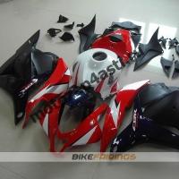 Комплект Мотопластика Honda CBR600rr 09-12 Бело-красно-сине-черный.