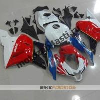 Комплект Мотопластика Honda CBR600rr 09-12 Бело-красно-синий.