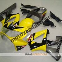 Комплект Мотопластика Honda CBR929RR 00-01 Черно-желтый-1.