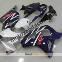 Комплект Мотопластика Honda CBR954RR 2002-2003 Бело-синий.