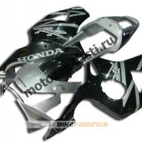 Комплект Мотопластика Honda CBR954RR 2002-2003 Черно-серый.