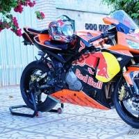 Комплект Мотопластика Honda CBR600RR 05-06 RedBull-2 (Orange)