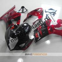 Комплекты пластика Suzuki GSXR1000 03-04 Красно-Черный.