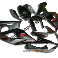 Комплекты пластика Suzuki GSXR1000 05-06 Черно-серый.