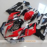 Комплекты пластика Suzuki GSXR1000 05-06 Красно-Черный.