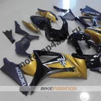 Комплекты пластика Suzuki GSXR1000 07-08 Черно-золотой.