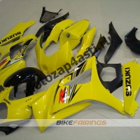 Комплекты пластика Suzuki GSXR1000 07-08 Черно-Желтый.