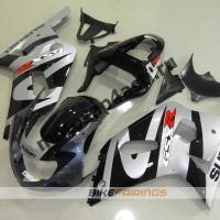 Комплект мотопластика Suzuki GSXR600-750 01-03,GSXR1000 00-02 Черно-серый-1.