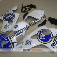 Комплект пластика Suzuki GSXR600-750 04-05 Lucky Strike-3.