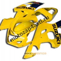 Комплект пластика Suzuki GSXR600-750 04-05 Желтый-1.