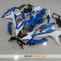 Комплекты пластика Suzuki GSXR600-750 08-09 бело-синий-2.