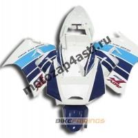 Комплекты пластика Suzuki RGV250 VJ22 Бело-Синий.