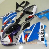 Комплекты пластика Suzuki TL1000R 98-02 Бело-Голубой.